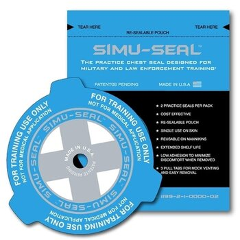 Simu-Seal Übungs-Chest Seal