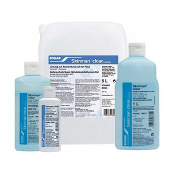 Skinman® clear 5 Liter Kanister