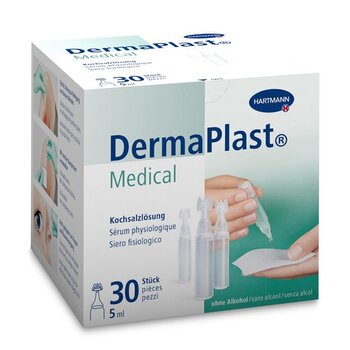 DermaPlast Medical Kochsalzlösung 30x5 ml