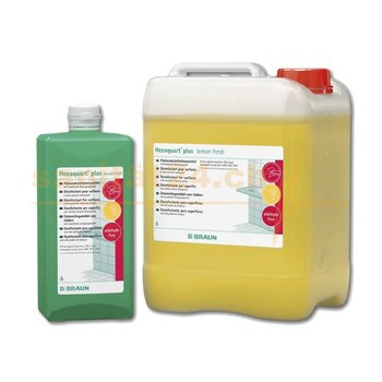 Hexaquart® plus lemon fresh Flächendesinfektion 5000ml...